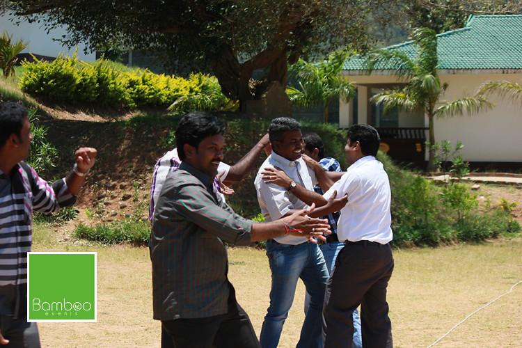 JCB Team Building Activity