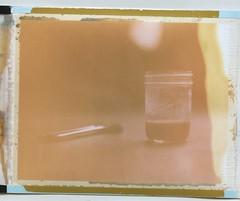 coffee (Dear Deer Fine Art) Tags: film expired largeformat 4x5 instant fuji