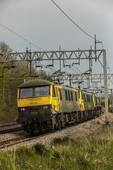 212A2893 (Phil_the_photter) Tags: class66 class68 class90 66546 66088 66594 90049 90016 66763 heamiesbridge wcml westcoastmainline railfreight gbfr lightengine