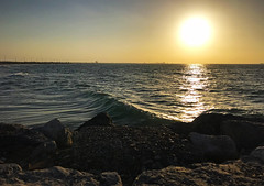 Sea view (Irina.yaNeya) Tags: rasalkhaimah uae emirates sea landscape seascape nature sunset ocean water waves coast shore rocks iphone sky sun light sunlight reflection rasaljaima eau mar paisaje naturaleza puestadelsol agua olas costa rocas cielo sol luz reflejo رأسالخيمة الامارات بحر طبيعة غروب ماء أمواج شاطئ سماء الشمس ضوء расэльхайма оаэ эмираты море природа пейзаж закат волны берег камни небо солнце свет отражение wave