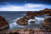 Rocky Blues (Augmented Reality Images (Getty Contributor)) Tags: longexposure clouds coastline landscape storm scotland water nisifilters waves colours morayfirth canon findochty seascape rocks unitedkingdom gb