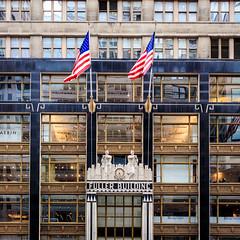 Fuller Building (USpecks_Photography) Tags: fullerbuilding fuller manhattan nyc newyorkcity architecture artdeco flags