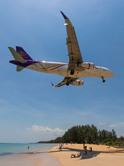 THAI Smile A320 (ferenckobli) Tags: airplane aircraft airliner airport aviation airbus a320 thailand phuket