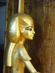 Nephthys (Aidan McRae Thomson) Tags: tutankhamun cairo museum egypt ancient egyptian sculpture statue gilded golden goddess