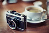 Ricoh 500 GS (Jon Siegel) Tags: nikon d810 50mm 12 50mmf12 ricoh ricoh500gs filmcamera vintage classic antique coffee cafe tokyo japan japanese