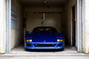 Not your average F40 (Aimery Dutheil photography) Tags: ferrari ferrarif40 f40 f40blu aquablue blue v8 italian bicester bicesterheritage sundayscramble exotic fast speed amazing canon 6d