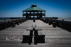 Folly Beach Pier End (4 Pete Seek) Tags: sc southcarolina follybeach follybeachsouthcarolina pier follybeachpier travel travelphotography mirrorless mirrorlessphotography