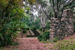 Cloudy Morning Park Walk (MJ6606) Tags: stone morning spring wildlife tree nature flowersplants stairs sky park clouds branches path florida