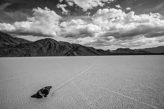 Wide Angle Nikon AF-S NIKKOR 14-24mm f/2.8G ED Lens! Death Valley NP Playa Racetrack Gathering Clouds Thunderstorm! DV National Park Fine Art Landscape Photography! High Resolution California Desert Photos! Dr. Elliot McGucken American West Landscape Art!