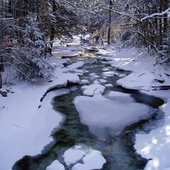 refreshing! (rocklizard) Tags: winter white snow cold ice river square frozen scenery heatwave heatwaves