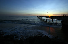 Sunset at the Pier (bokchoyboy) Tags: ocean sunset night pier nightshot gabo pacificapier bokchoyboy mochiland