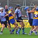 Julie Draper, Louise O'Hara and Caitriona Power lining up for possession