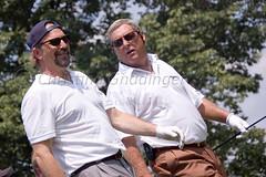 Kevin Costner and Fuzzy Zoeller (joschmoblo) Tags: copyright d50 golf nikon kevin fuzzy 18200 allrightsreserved 2007 costner kevincostner zoeller joschmoblo wolfchallenge christinagnadinger