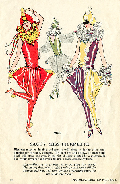 Saucy Miss Pierrette.