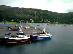 Ullapool Pier ( Jimmy MacDonald ) Tags: ferry boats pier fishing harbour lewis lorry isle ullapool stornoway drmacleod