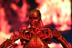 Terminator (I Am Adam) Tags: red war action arnold battle flame figure t3 terminator t1 t2 endoskeleton