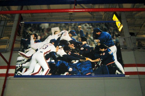 Queens - Flushing: Shea Stadium - 1986 World Series Celebration Banner