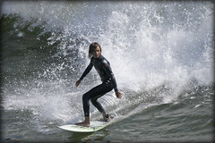 Tiny Surfer (_Allen_) Tags: ocean california boy guy beach sports water geotagged kid surf surfer huntington young surfing surfboard wetsuit getilt0 gerange1000 geolat33653995 geolon118003807