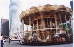 merrygoround -karuzela (leszkoski) Tags: city paris lunapark merrygoround karuzela francja