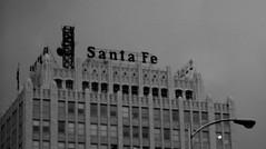 Santa Fe in Fog (kafkan) Tags: railroad santafe downtown ghost amarillo
