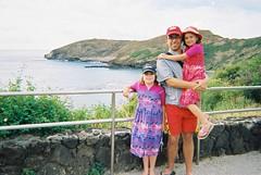 Hanauma Bay Trio (Derek K. Miller) Tags: ocean sea summer vacation holiday palms hawaii surf waves snorkel waikiki oahu palm snorkeling miller palmtrees derek honolulu hanaumabay penmachinecom hanauma derekmiller penmachine