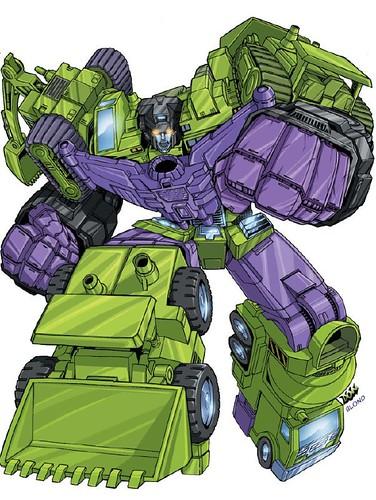Transformer Devastator