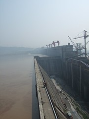 Three Gorges Dam under construction (Harald Groven) Tags: china photo picture bilde threegorgesdam  hbei snxidb