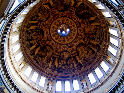 Inside of St. Paul's Dome