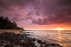 Ke'ei Sunset (konaboy) Tags: sunset beach hawaii interestingness bigisland kona keei 21407
