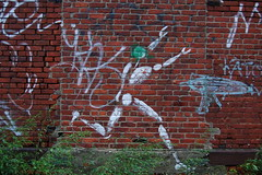 Running... (lowlight168) Tags: slr wet rain brooklyn d50 bedford graffiti nikon ave lowlight168