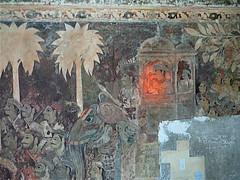 Heeere's ...? (vlk) Tags: india mural palace historical karnataka coorg madikeri tipu kodagu tz1 tippu vlk nalknad veeraraja