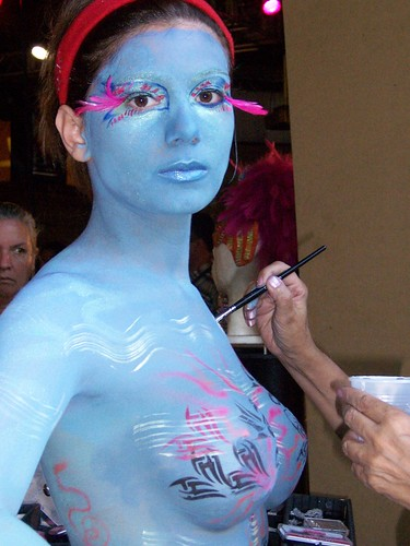Marine Sexy Girl - Body Painting