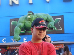 Universal CityWalk with the Soohoos (2)