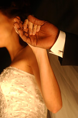 robust and dainty (j.macik) Tags: wedding love groom bride hands florida marriage fortlauderdale holdhands