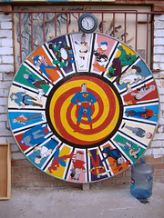 Wheel of comic characters, Hi De Ho Comics (dogwelder) Tags: california wheel santamonica spiderman 2006 superman september wonderwoman comicbook batman tintin zurbulon6 captainamerica donaldduck pogo astroboy shazam homersimpson krazykat flashgordon captainmarvel theincrediblehulk mrnatural alfredeneuman theloneranger jughead littlelulu zurbulon mrmxyzptlk gatturphy hidehocomics albertalligator