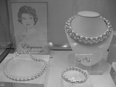 Jewelry Display Case (iirraa) Tags: new city bw necklace newjersey jackie display drawing nj picture jacqueline jewelry case atlantic bracelet atlanticcity jersey kennedy jackiekennedy jacquelinekennedy
