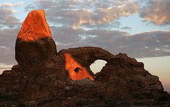 Turret Arch sunrise (pbutler1) Tags: utah bravo arch archesnp interestingness72 i500 specland explore10sept06