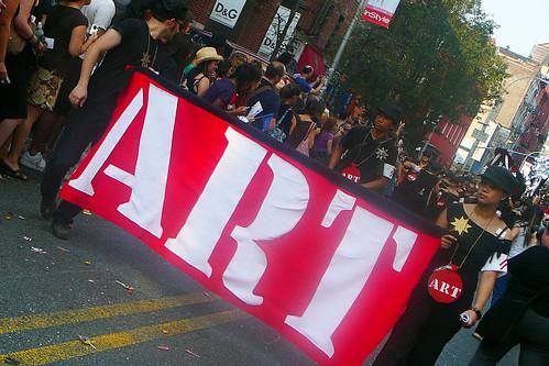 09-09 Deitch Art Parade in Soho