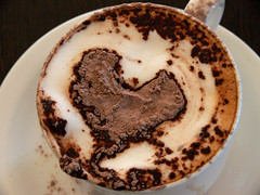 <3 (Hazel Eyes ) Tags: 3 love cup coffee caf shop club gold coast eyes heart chocolate australia powder hazel cappuccino iatethis