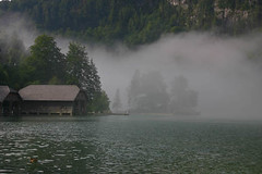 Mist in the Morning (JoeBreuer) Tags: morning mist germany knigssee