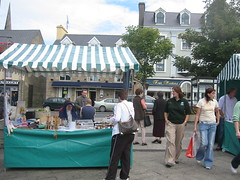 Farmers Market in Donegal Town