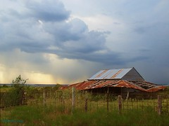 rustyroof (TexasValerie) Tags: weather clouds barn rural fence texas rusty getrdun cloudsstormssunsetssunrises