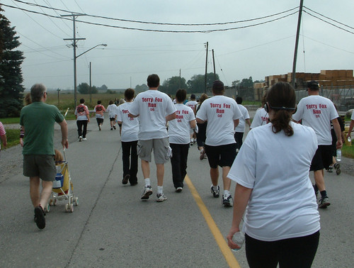 Terry Fox Run Bowmanville 2006 2