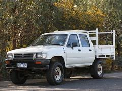 Hilux (Milkwood.net) Tags: diesel pickup aerial ute toyota coathanger tray tacoma hilux dualcab dropside