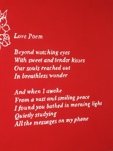 banksy love poem