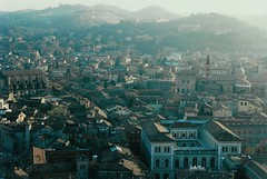 Aerial View, Bologna (monika & manfred) Tags: travel italy cityscape aerialview bologna mm utataview rooflandscape