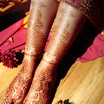 Rajasthani style mehndi by me, on me