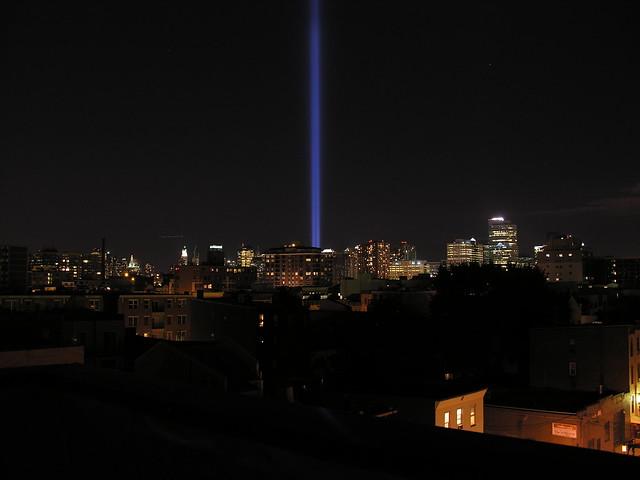 World Trade Center Memorial Lights