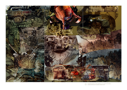 """V. """"Emergence of Grand Scale Mining S. XX"""" / Historical Mural (2.05 MT x 3.15 MT)"""