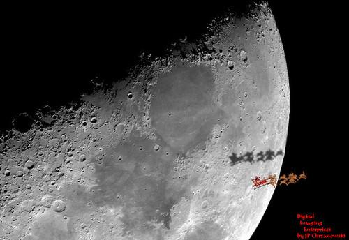 Santa is on his way